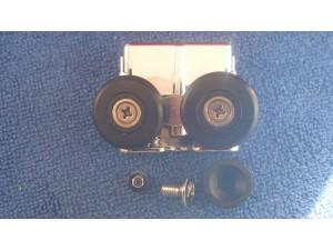 Mira shower door rollers