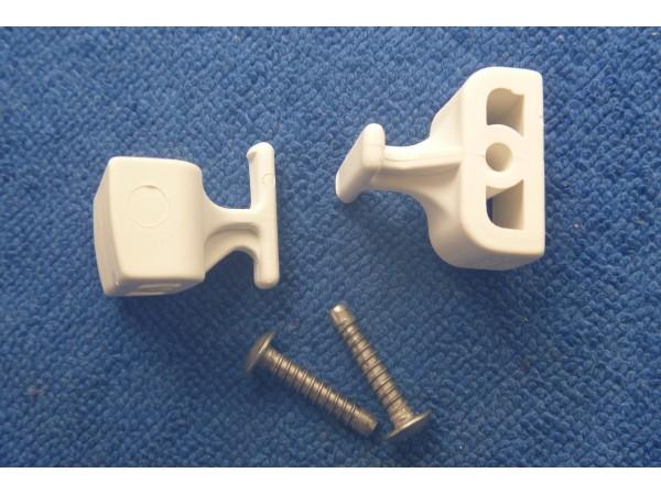 aquadart shower door roller unit T-bar
