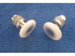 SDH024 17.00 mm shower door roller X 2