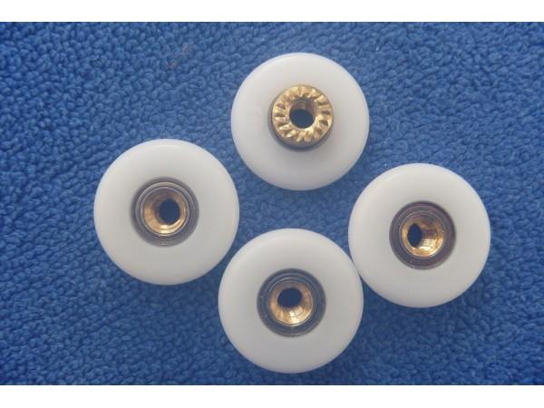 shower door wheels SDH001 25mm X 4