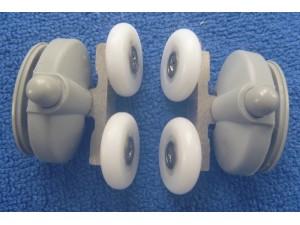 shower door rollers SR002 lower pair