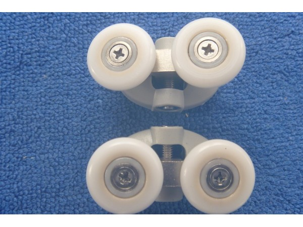 Shower Door Rollers Sr002 Upper Pair
