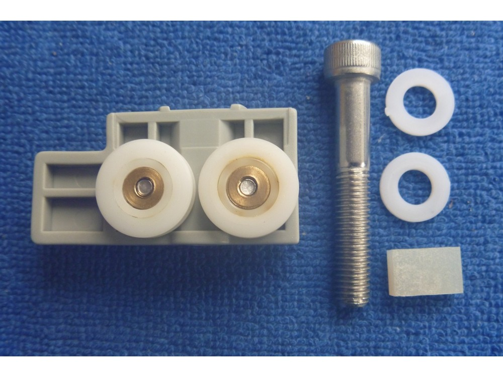 This Is A Set Of Four Roller Units With 17 4mm Wheels