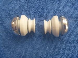 shower door roller retainer nut