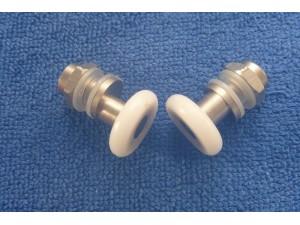 shower door rollers SPR002 pair
