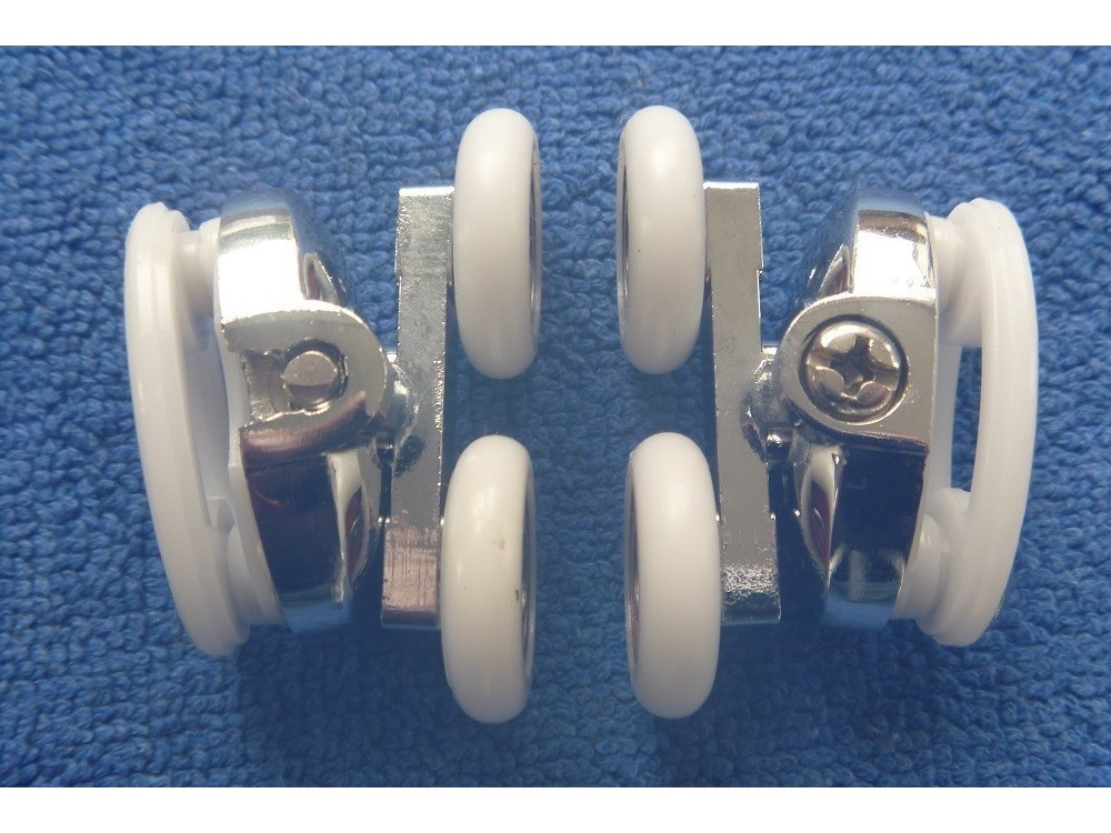 Shower Door Rollers Sr007 Upper Pair